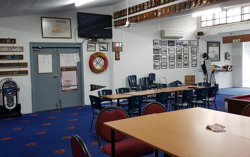 Updated painted interior and with memorabilia Front entrance