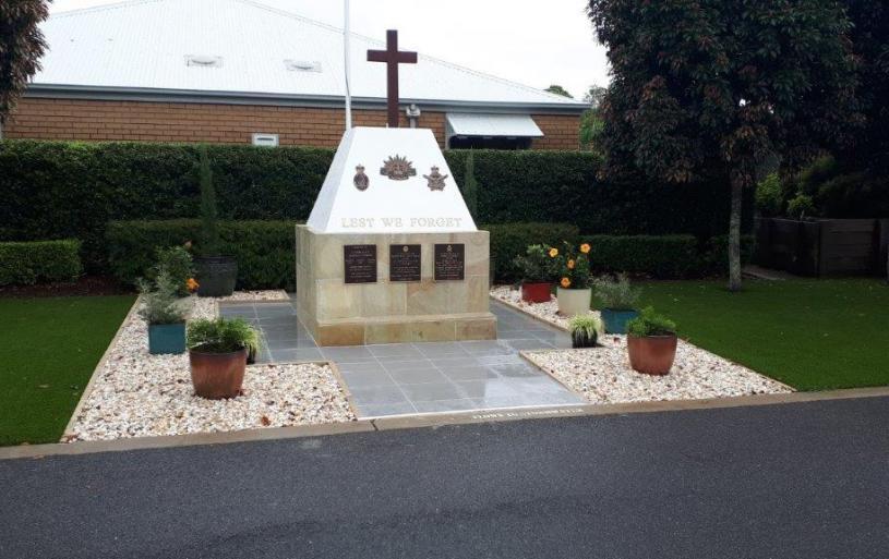 Sandgate Sub-Section was represented at the Dedication Ceremony of the Fig Tree Retirement Village's War Memorial and Remebrance Garden, at 1 McClintock Drive, Murrumba Downs, on the morning of 6 February 2020.