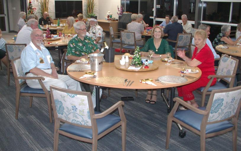 Christmas Party, December 2020 - some of those present.