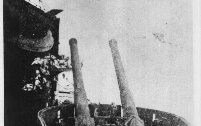 Remains of Itilain Cruiser SAN GEORGIO, Tobruk 1941