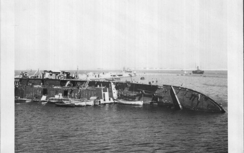 SS PATRIE, HAIFA, 1941