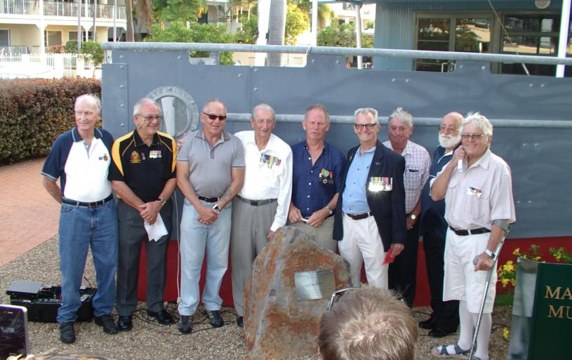 On the 10th Feb 2014, We dedicated a Memorial to the HMAS Voyager. This is located in the Maritime Museum of Townsville.