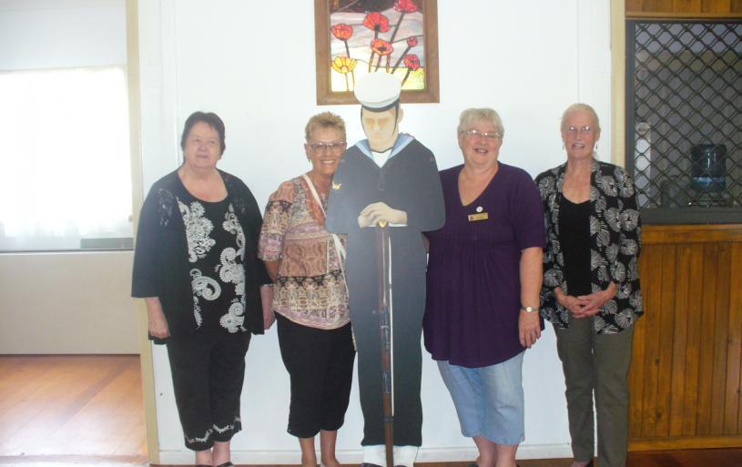 Maureen Lane, Ann Kellett, Jan Priest and Sue Miller