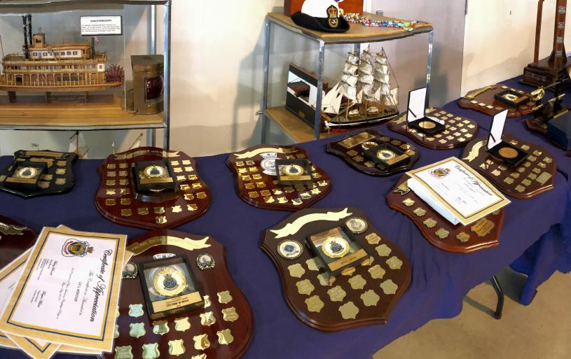 The Annual Training Ship Paluma Awards Day saw some 16 presentations made to Paluma's outstanding Australian Navy Cadets.